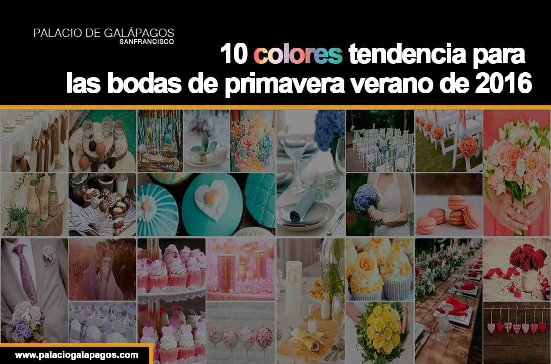 tendencias colores bodas