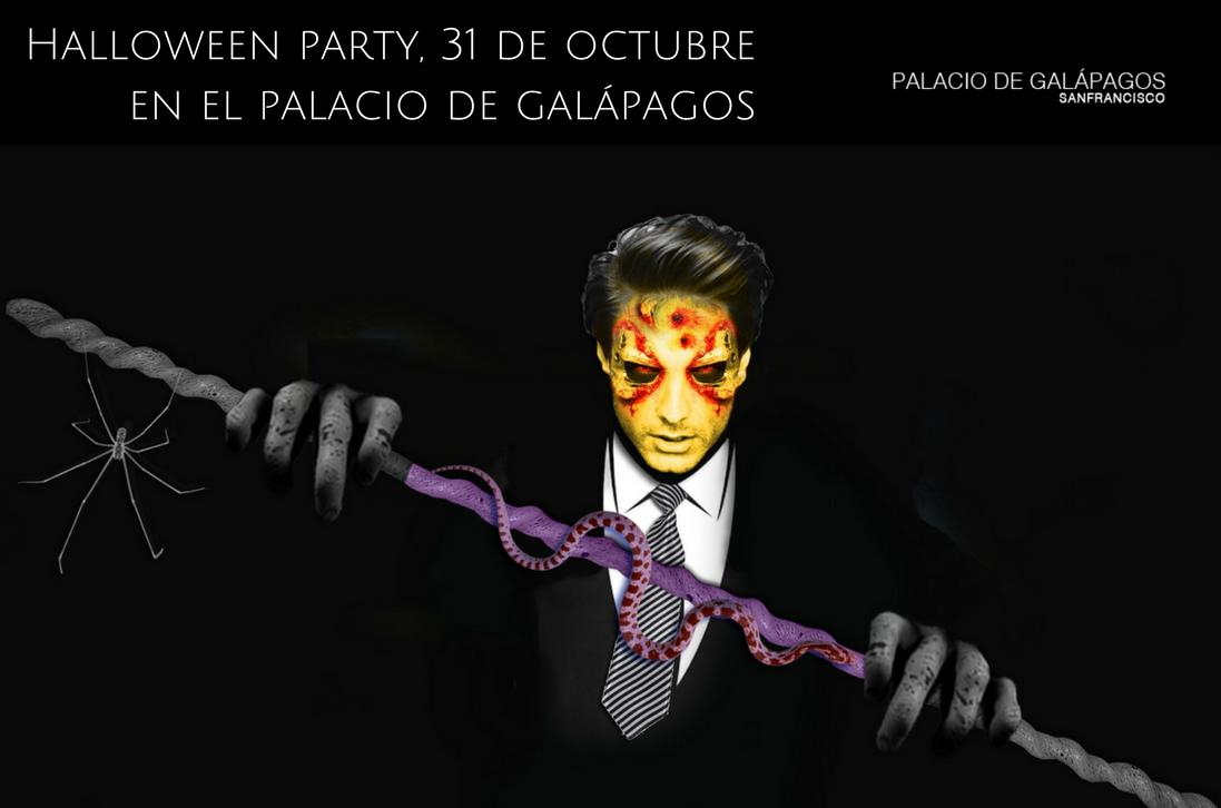 fiesta halloween guadalajara Palacio Galapagos