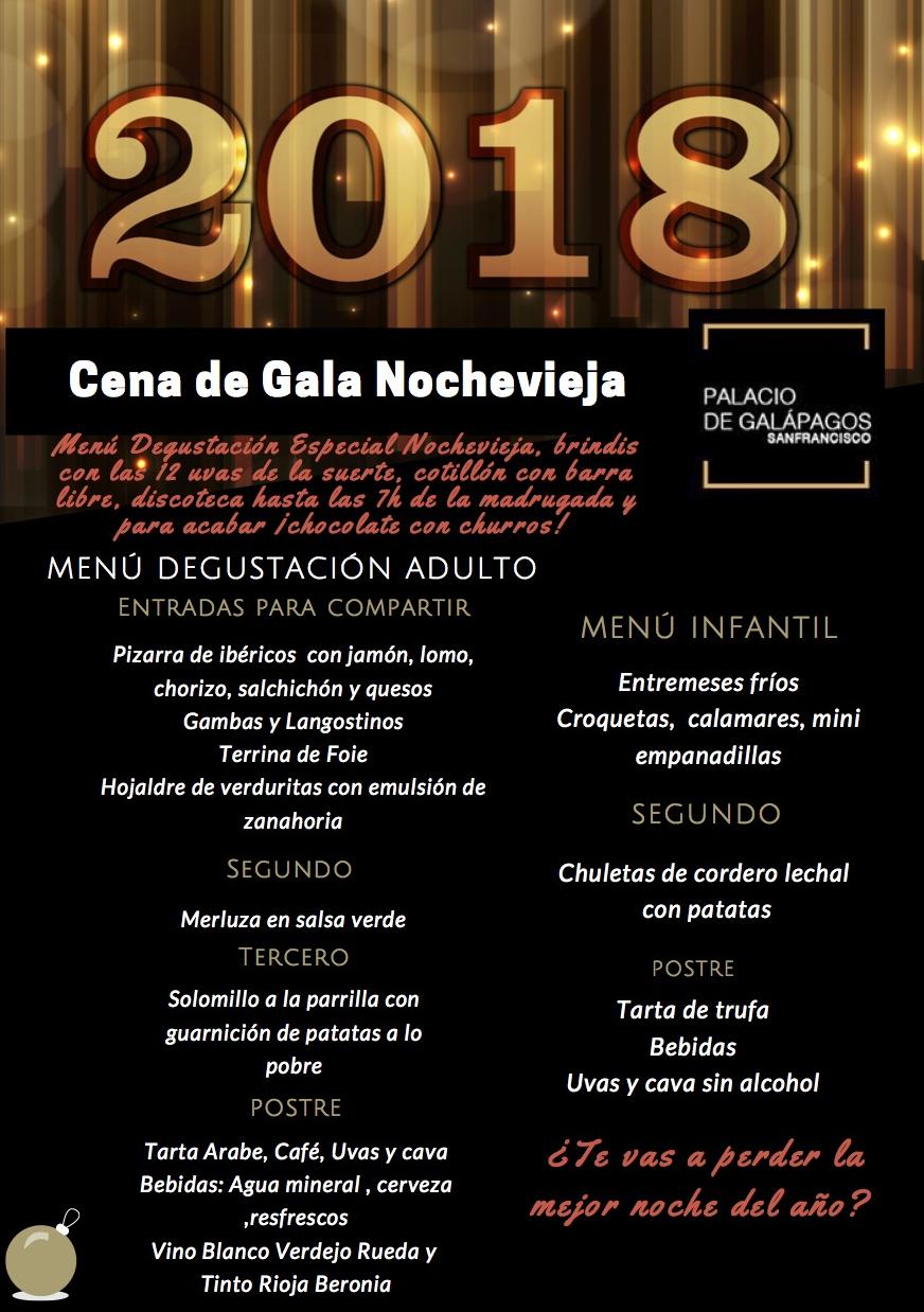 Men especial noche vieja y fiesta de fin de a o en el - Menus para fin de ano ...