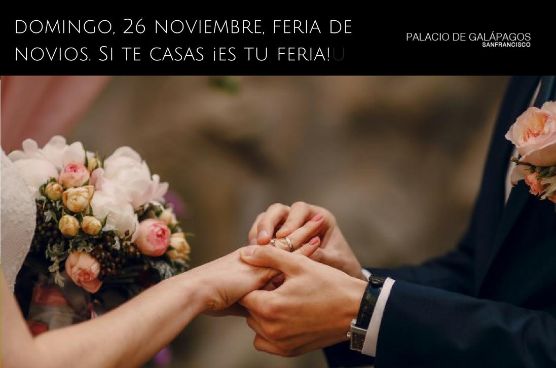 portada blog feria novios palacio galapagos