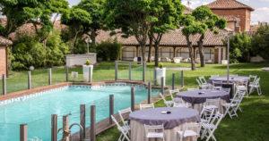 piscina salon aprisco bodas al aire libre