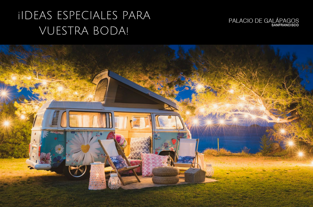 ideas especiales para vuestra boda