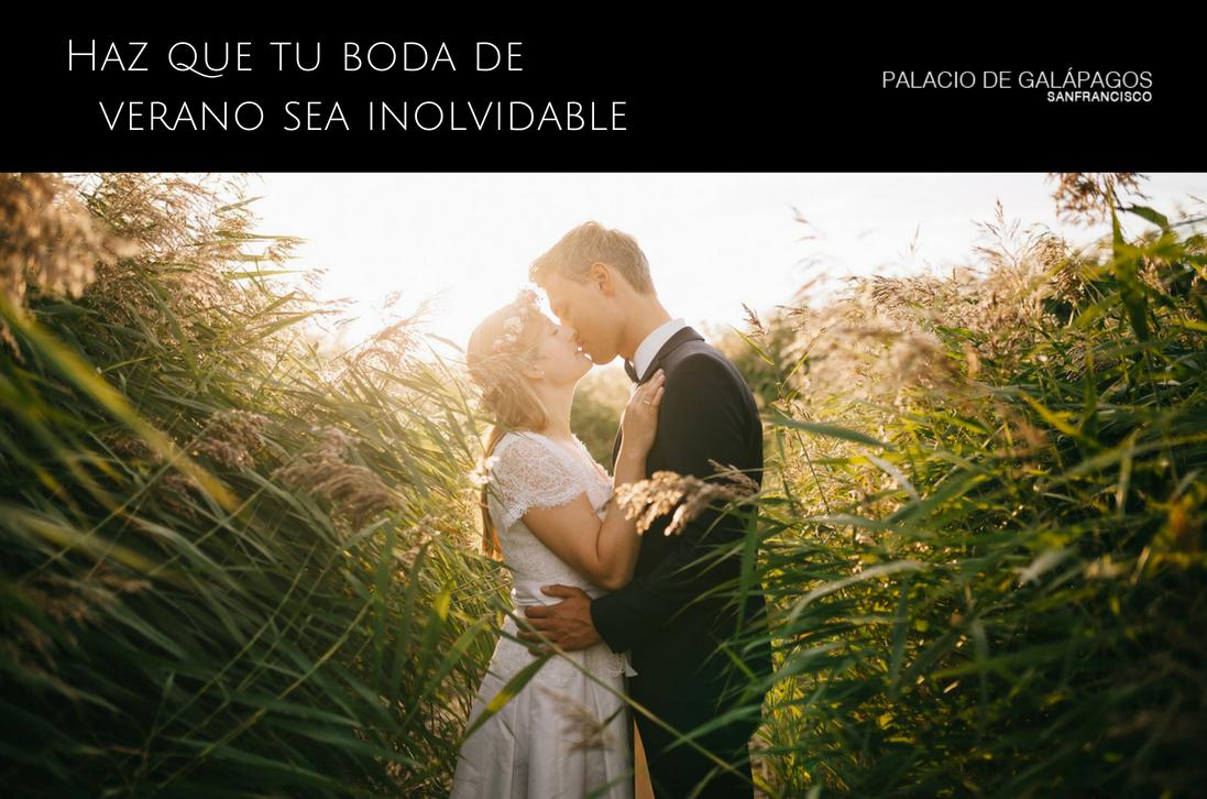 Ideas para que tu boda de verano sea inolvidable