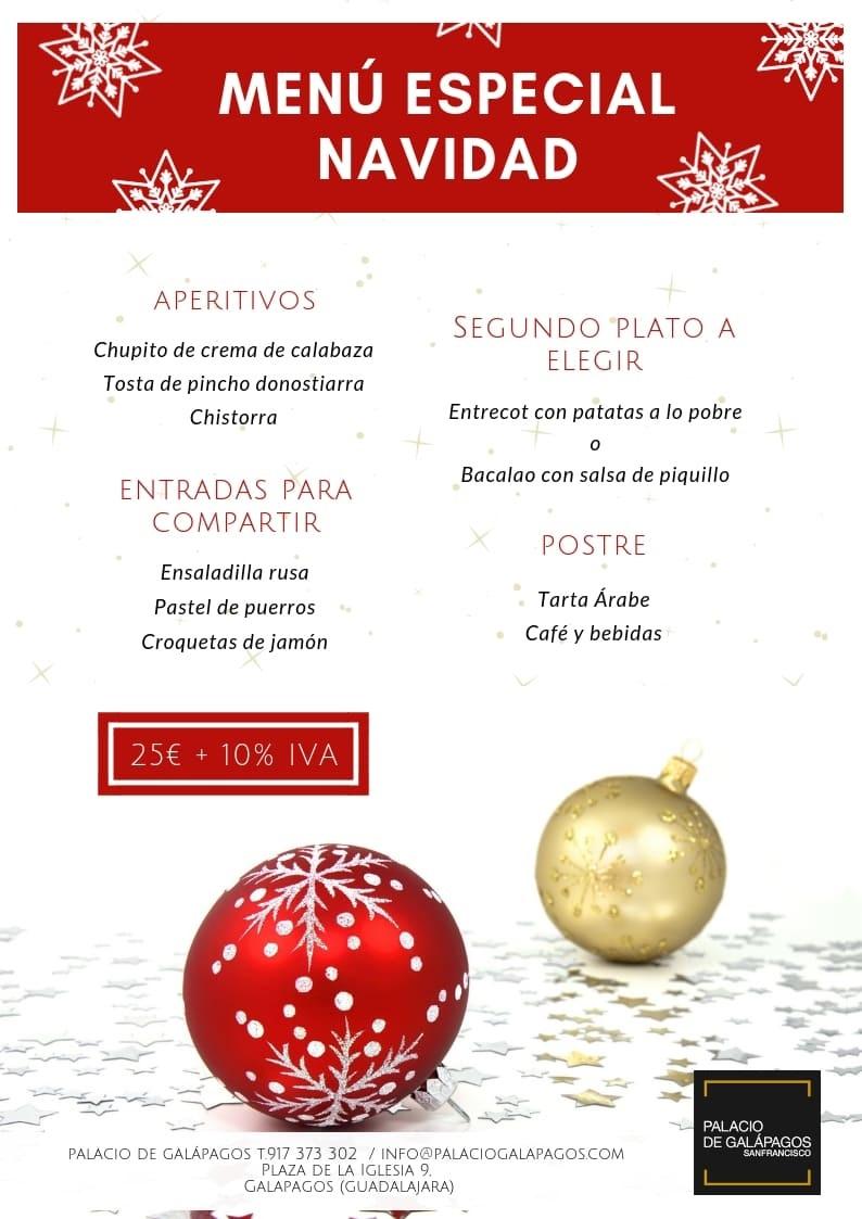 Comidas y cenas de empresa en palacio de gal pagos - Menu de cenas navidenas ...