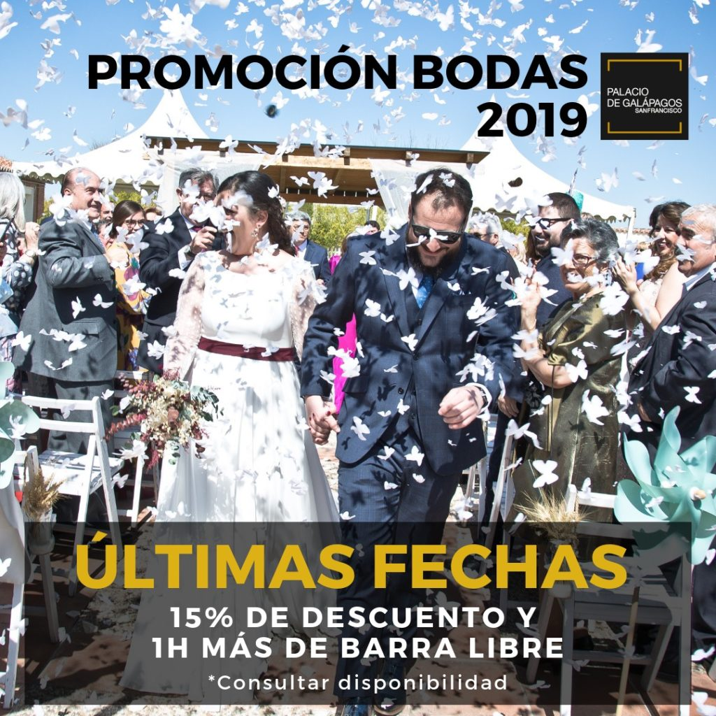 Promoción para bodas 2019