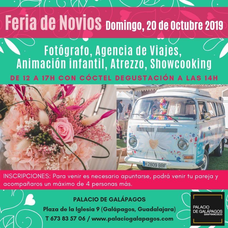 Feria de Novios en Palacio de Galápagos