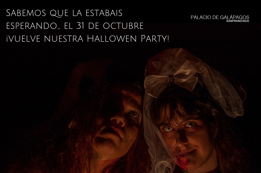 Ven a nuestra Halloween Party 2019