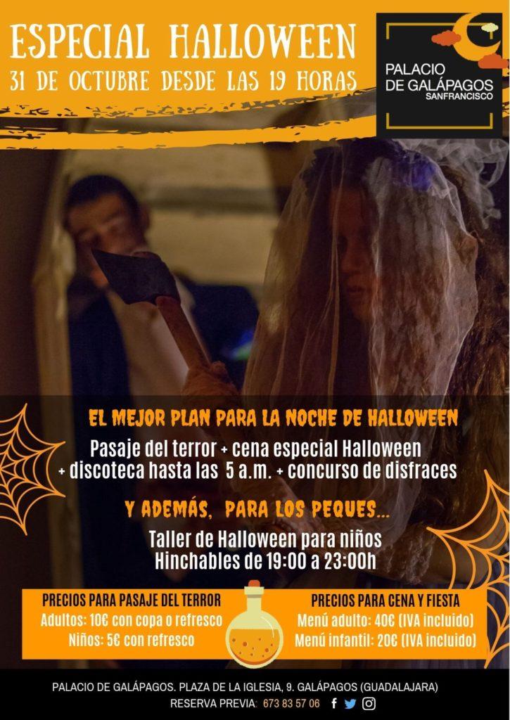 Fiesta de Halloween en Palacio de Galápagos