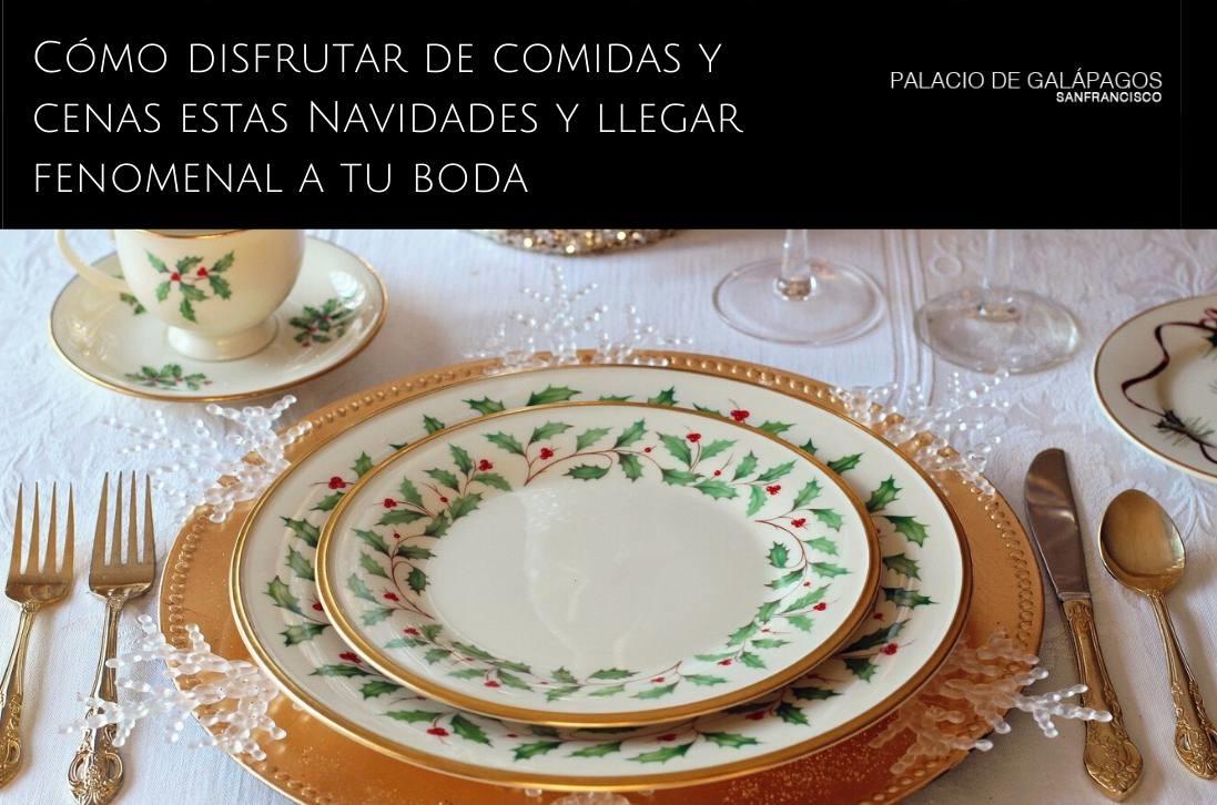 Consejos para comidas y cenas de Navidad